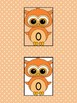 Orange Owl Full Page Math Number Posters 0-100