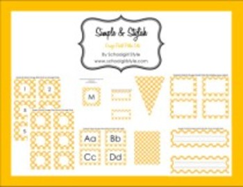 Orange Pastel Polka Dot Collection Classroom Decor