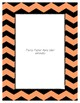 Orange Pastel Poster Frames * Create Your Own Dream Classroom / Daycare *