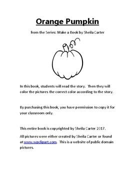 Orange Pumpkin Book