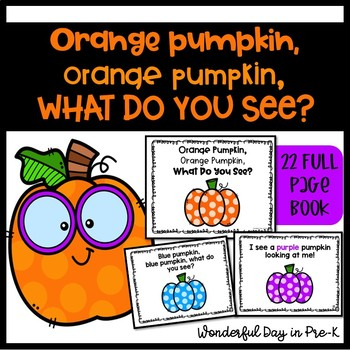 Orange Pumpkin Class Book