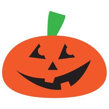 Orange Pumpkin Clipart   Jack-o-Lantern   Halloween Clip art