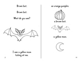 Halloween Fun Book - Orange Pumpkin, Orange Pumpkin