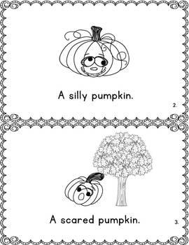 Pumpkin, Pumpkin Reading and Writing Unit