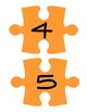 Orange Puzzle Piece Line Up Visual 1-30