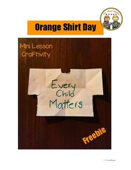 Orange Shirt Day Freebie