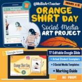 Orange Shirt Day - Social Media Art Project-Distance Learn