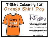 Orange Shirt Day T-Shirt Colouring Pages - FREEBIE