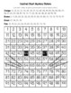 Orange Tabby Cat Hundred Chart Mystery Picture with Number Cards
