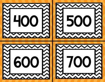 Orange Twist Lexile Labels for Classroom Library Book Bins