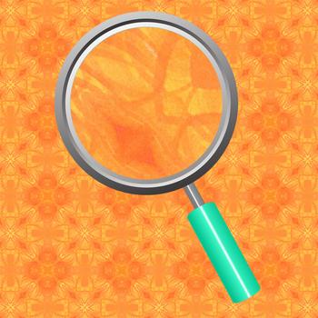 Orange Watercolor Kalidoscope Digital Paper / Backgrounds Clip Art Set