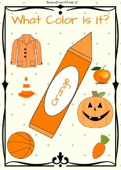 Orange - What Color Is It