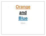 Orange and Blue Repeated and Paired Reading Book