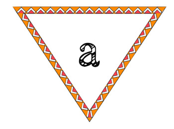 Orange and Pink Banner Pendants