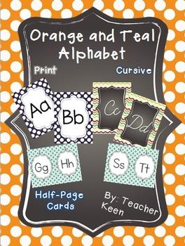 Orange and Teal MEGA Pack