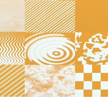 Orange and White Digital Paper