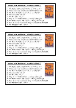 Orange in No Man's Land Reading Comprehension