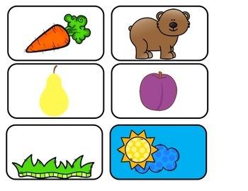 Orange is a Carrot Pocket Chart Bundle