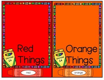 Orange is a Carrot Pocket Chart and Literacy Materials