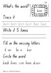 Orange level word word booklet - first 100 words
