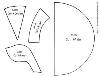 Oranges Cut and Paste