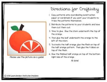 Oranges Craft
