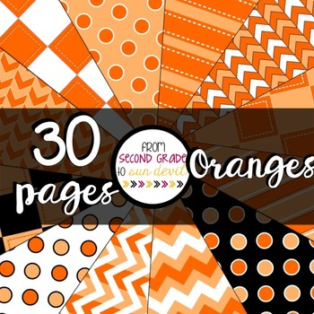 Oranges Digital Paper