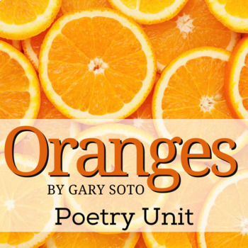 Oranges by Gary Soto Activity Pack and Quiz