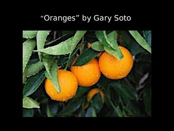 Oranges by Gary Soto PowerPoint
