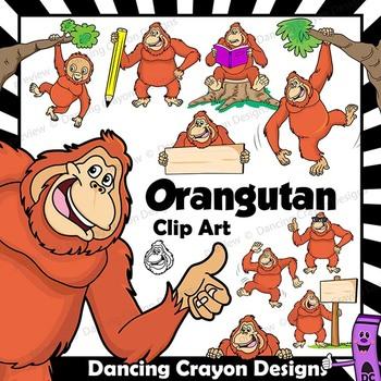 Orangutan Clip Art