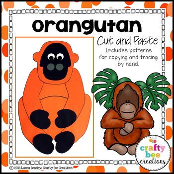 Orangutan Cut and Paste