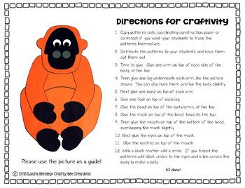 Orangutan Craft
