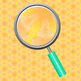 Orangy Wash Digital Backgrounds / Patterns Clip Art