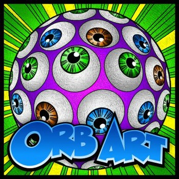 Orb Art - Coloring Sheets, 100 designs, 2 sizes