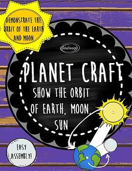 Orbit Craft Kindergarten Science Interactive Diagram