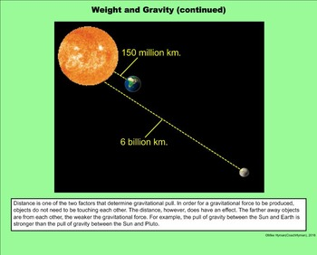 Orbit and Gravity - A Fifth Grade PowerPoint Introduction