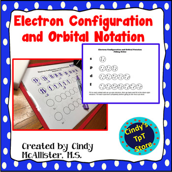Orbital Notation and Electron Configuration Instructional Aids
