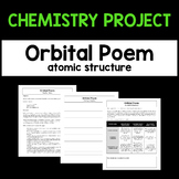Atomic Structure Chemistry Project - Orbital Poem - Creative Writing