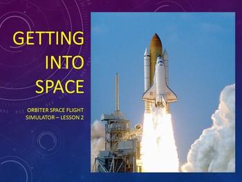 Orbiter Space Flight Simulator - Lesson 2 - Getting into orbit