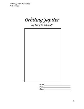 Orbiting Jupiter Novel Study with Printable Sticky Notes