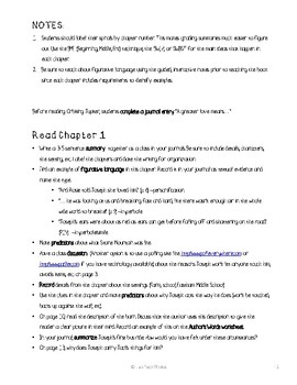 Orbiting Jupiter Novel Unit with Differentiated/Guided Notes and Links
