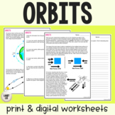 Orbits - Guided Practice - Print & Google Versions
