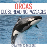 Orca (Killer Whale) Close Reads