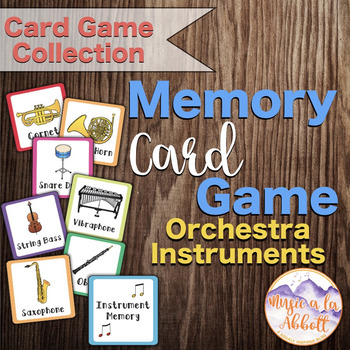 Orchestra Instruments Memory Game