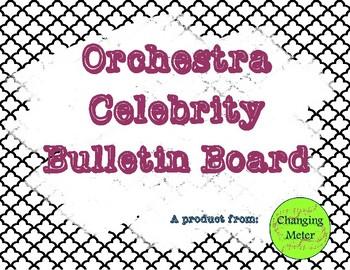 Orchestra Celebrity Recruitment Bulletin Board