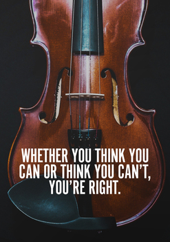Orchestra Classroom Poster