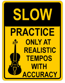 Orchestra Classroom Traffic Signs