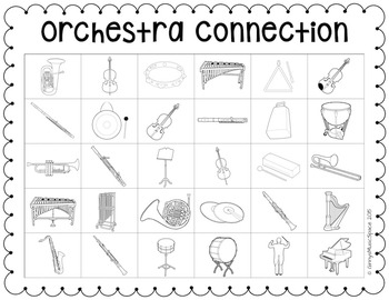 Orchestra Connection {An Instrument Identification Game}