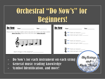 """Orchestra """"Do Know"""" Activities"""