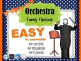 Instruments of the Orchestra - Easy to Assemble Flipbook,